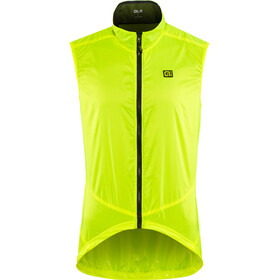 Alé Cycling Guscio Light Pack Liivi Miehet, flou yellow